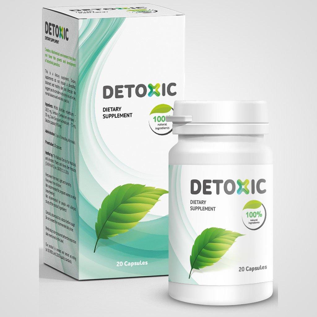 Detoxic - un remediu de încredere împotriva paraziților