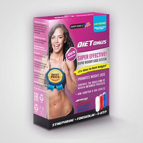 Dietonus - Soluție inovativă trifazică pentru scăderea greutății corporale