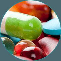 spre deosebire de medicamente