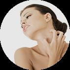 """Reduce inflamația pielii și mâncărimea, răcorește pielea, elimină senzația de """"întindere"""" a pielii"""